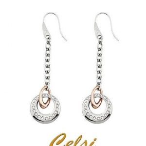 2 JEWELS Orecchini BELEN acciaio / acciaio rose' e cristalli PROMISE cod. 261084