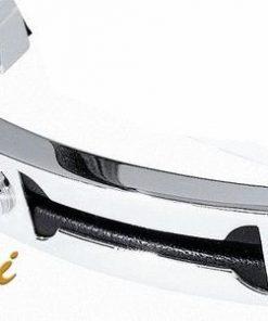 MORELLATO Bracciale sabbiato nero 2 diamanti H/I  collez. LINK cod.0413