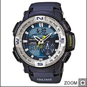 CASIO ACCIAIO  WRIST  WATCH ANADIGITAL  PRG-280-2ER