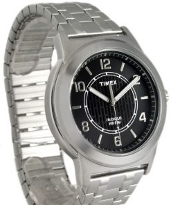 TIMEX OROLOGIO DONNA ACCIAIO QUADRANTE NERO LUCE INDIGLO MAIN STREET TW2P61800
