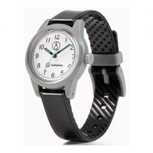 CITIZEN SMILESOLAR mini: OROLOGIO solo tempo donna con cassa e cinturino in resina nero, movimento ECO-DRIVE, RP01J012Y