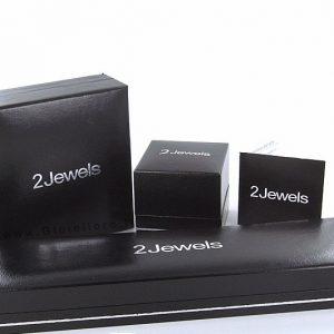 2JEWELS collezione BLACK FIBER: Bracciale uomo in ACCIAIO 916L, PVD oro rosa e fibra di carbonio, 231932