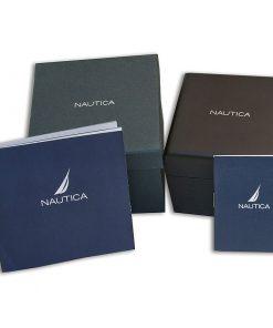 NAUTICA: Orologio uomo CRONOGRAFO collezione BATTERY PARK con cinturino in acciaio, NAPBTP004