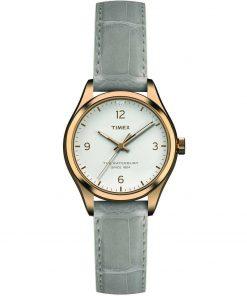 TIMEX: Orologio donna solo tempo della collezione WATERBURY con cinturino in pelle, TW2R69600